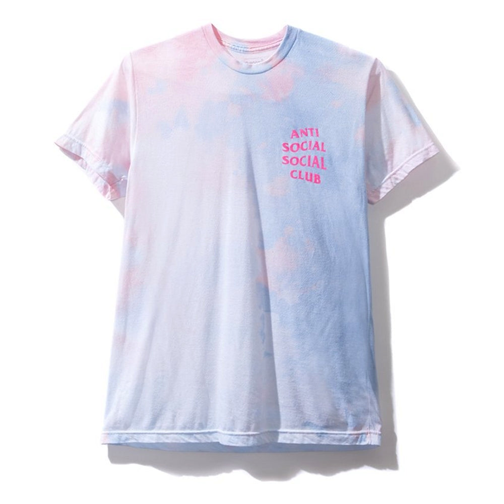 AntiSocialSocialClub LSD CORAL TEE -WHITE/PINK