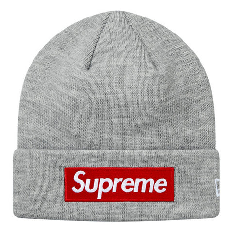 SUPREME NEW ERA BOX LOGO BN -GREY