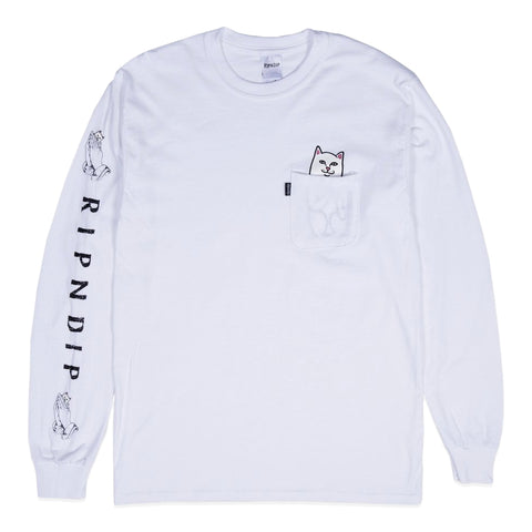 RipNDip LORD NERMAL L/S -WHITE