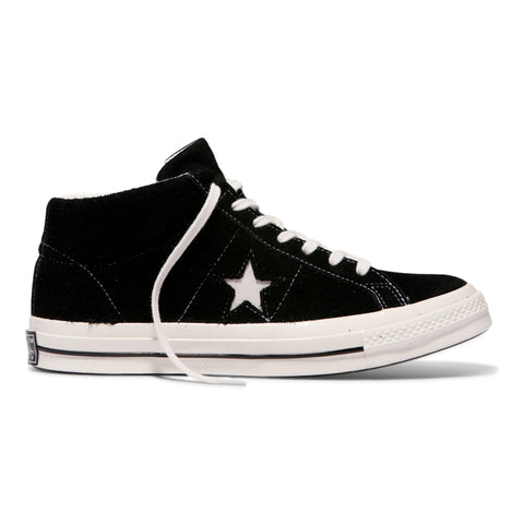 CONVERSE ONE STAR MID -BLACK