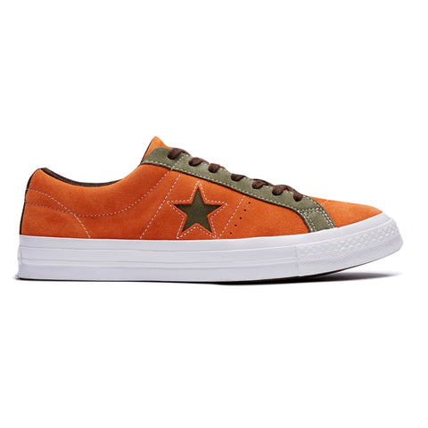 CONVERSE ONE STAR OX -ORANGE