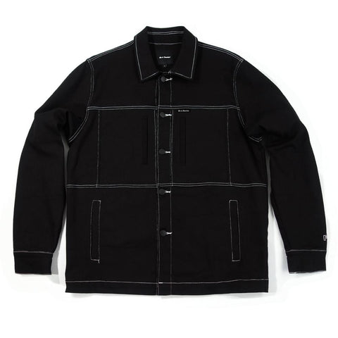 40'S AND SHORTIES ALL CITY JACKET -BLACK