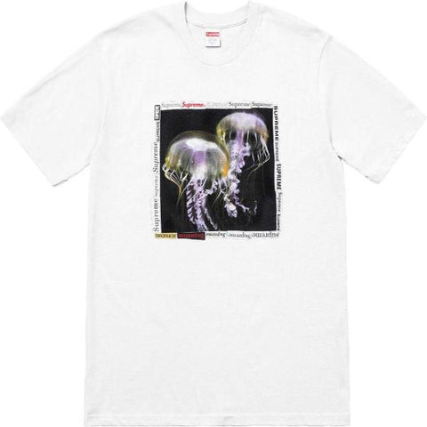 SUPREME JELLYFISH TEE -WHITE