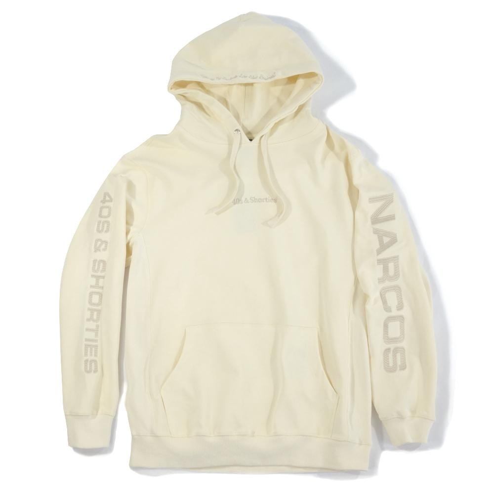 40'S AND SHORTIES COCA HOODIE -CREAM