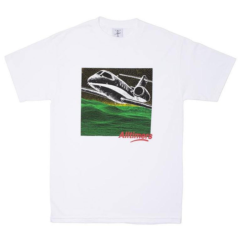 ALL TIMER FIRST CLASS TEE -WHITE