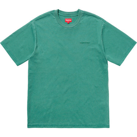SUPREME OVERDYED TEE -GREEN