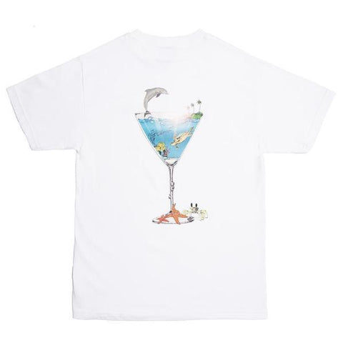 ALL TIMER TROPICAL FANTASY TEE -WHITE