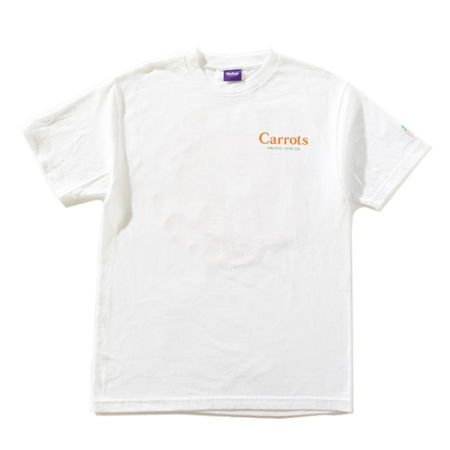 CARROTS PACIFC TOTE T-SHIRT -WHITE