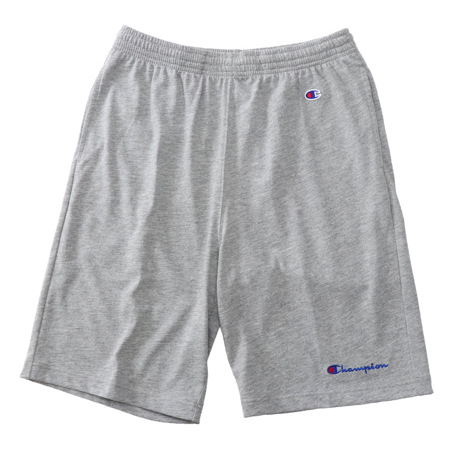 CHAMPION SMALL LOGO SHORT PANT -GREY