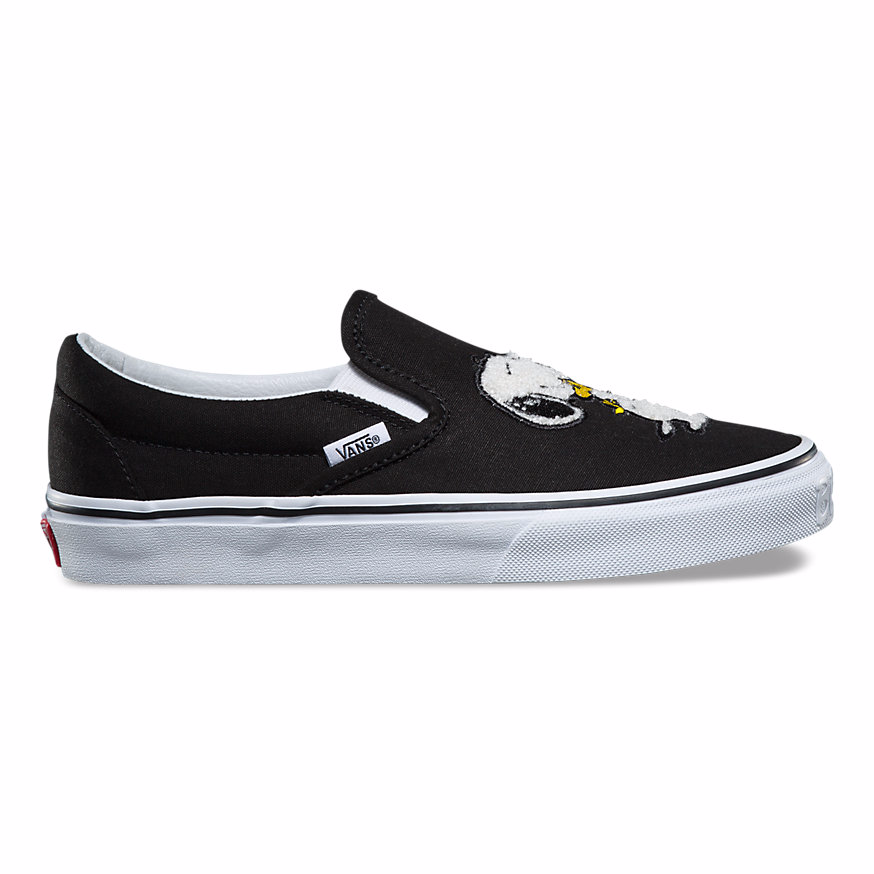 Vans CLASSIC SLIP-ON X PEANUTS -BLACK