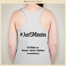 #Just5Minutes Tank - Women/Teens