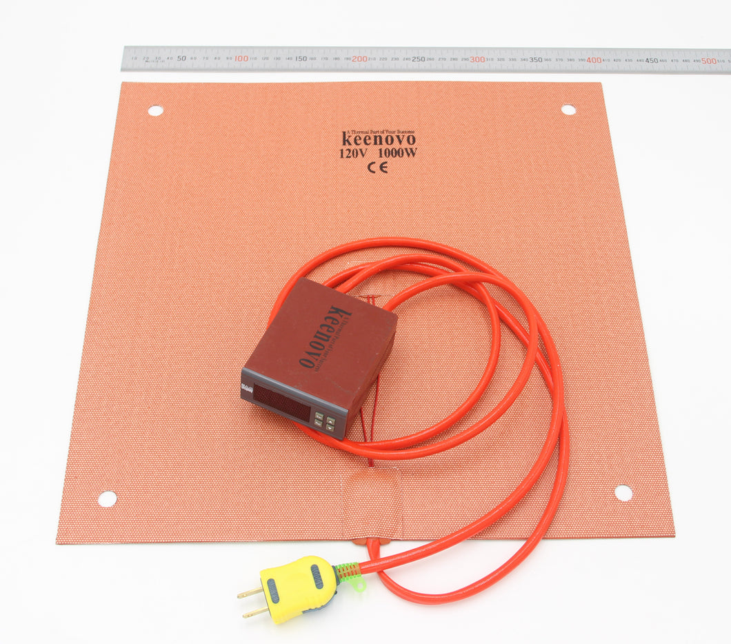 Keenovo Silicone Heater Pad for Creality CR10 3D Printer Build Plate