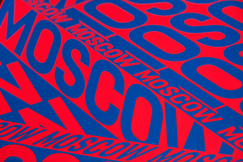 Moscow by Anna Kulachek | Limited Edition Screen Printed A2 Poster