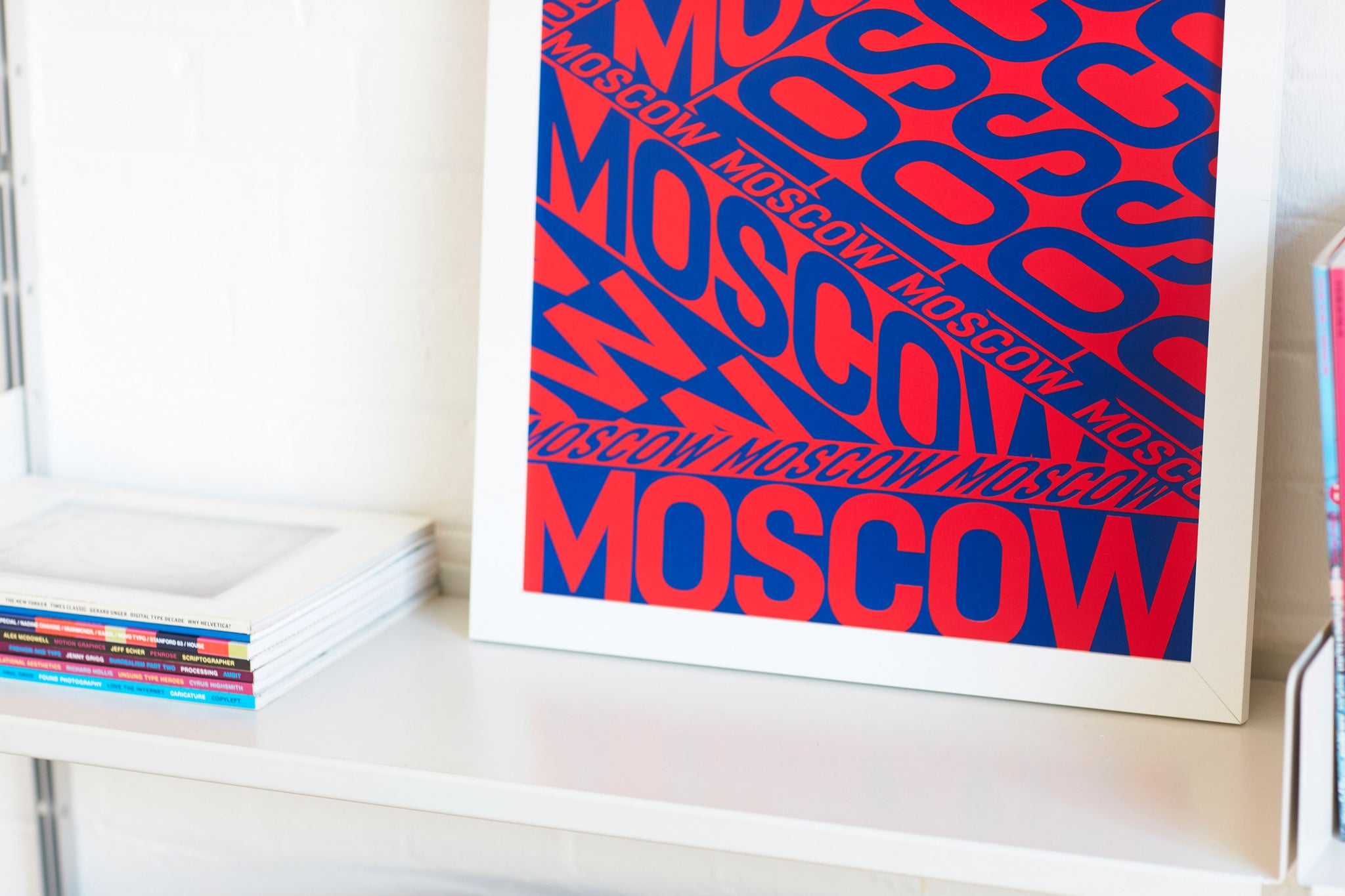 Moscow by Anna Kulachek Limited Edition Screen Printed Poster