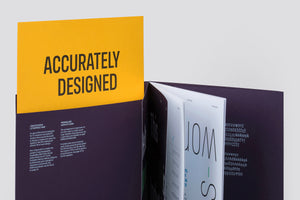 FS Industrie Specimen with limited edition letter press insert
