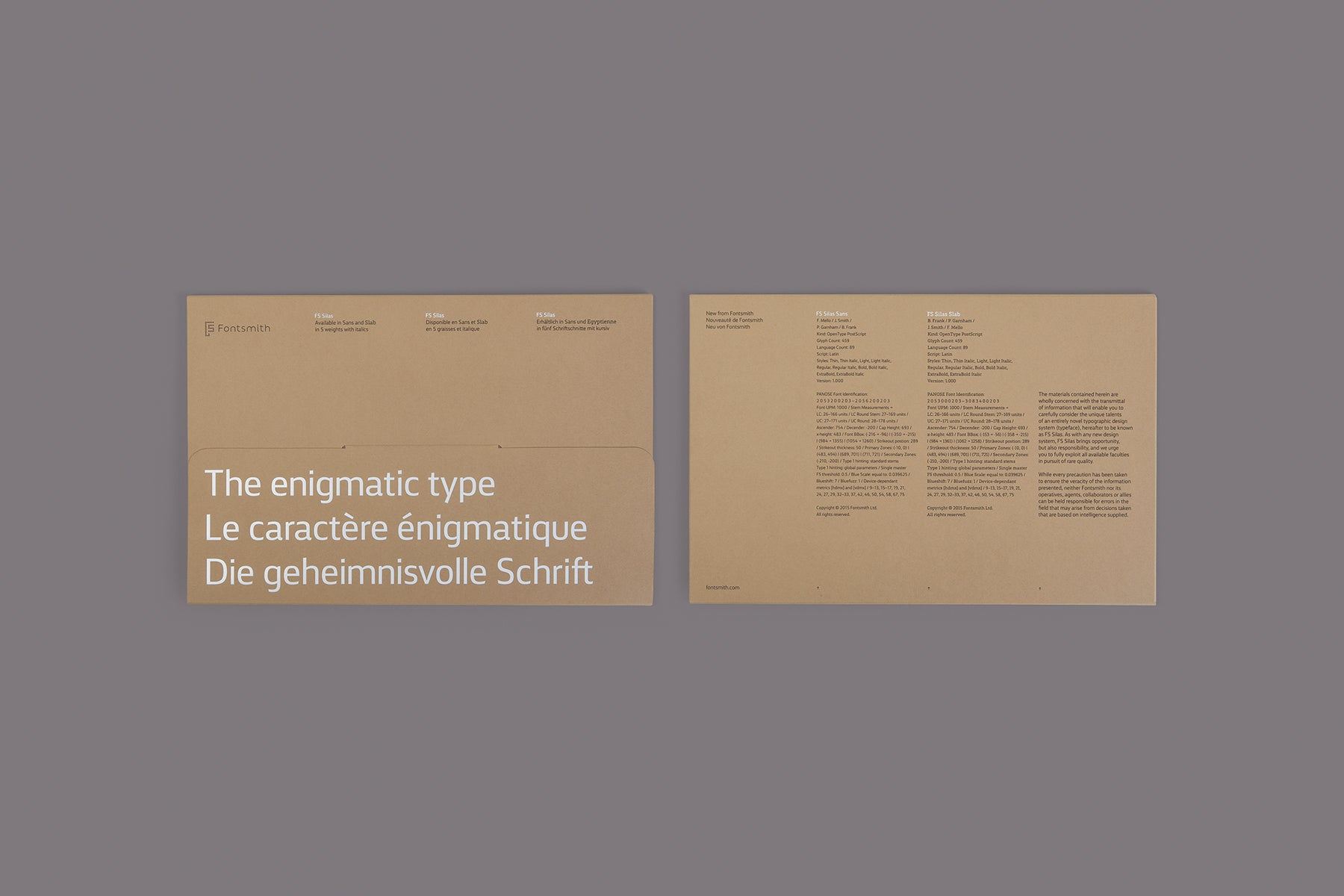 FS Silas Specimen | The Enigmatic Type by Fontsmith