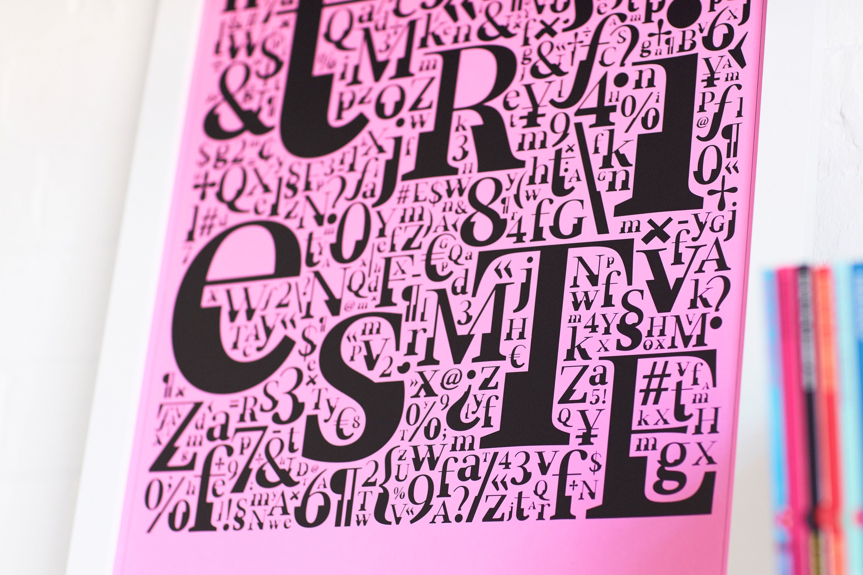 FS Sally Triestina Pack | Font + Limited Edition A2 Poster by Astrid Stavro