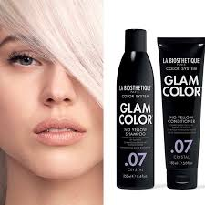 La Biosthétique Glam Color no yellow shampoo .07 crystal 250ml
