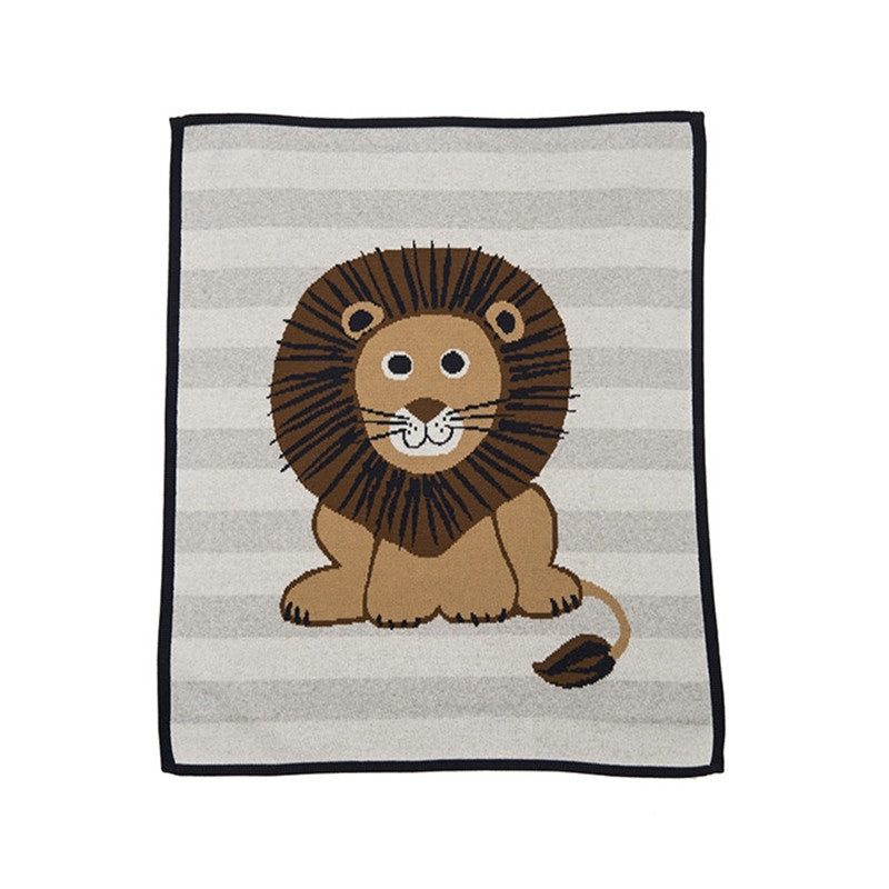 Lion Stripe Blanket