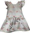 The Darling Dress-Caroline Ivory Jacquard