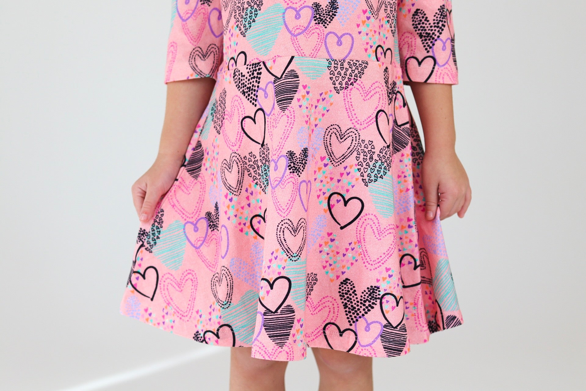 The Bubbly Dress---Hailey's Hearts