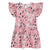 The Darling Dress--Pink Floral Vines