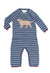 Crosby Dog Stripe Coverall