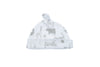 white soft pima cotton hat from gift set
