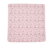 pink soft pima cotton infant blanket