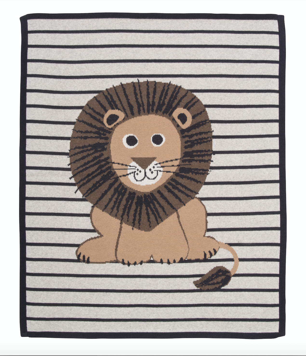 Griffin Lion Stripe Blanket