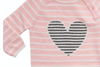 Sweet Heart Stripe Coverall