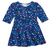 Classic Blue Hearts Bubbly Dress