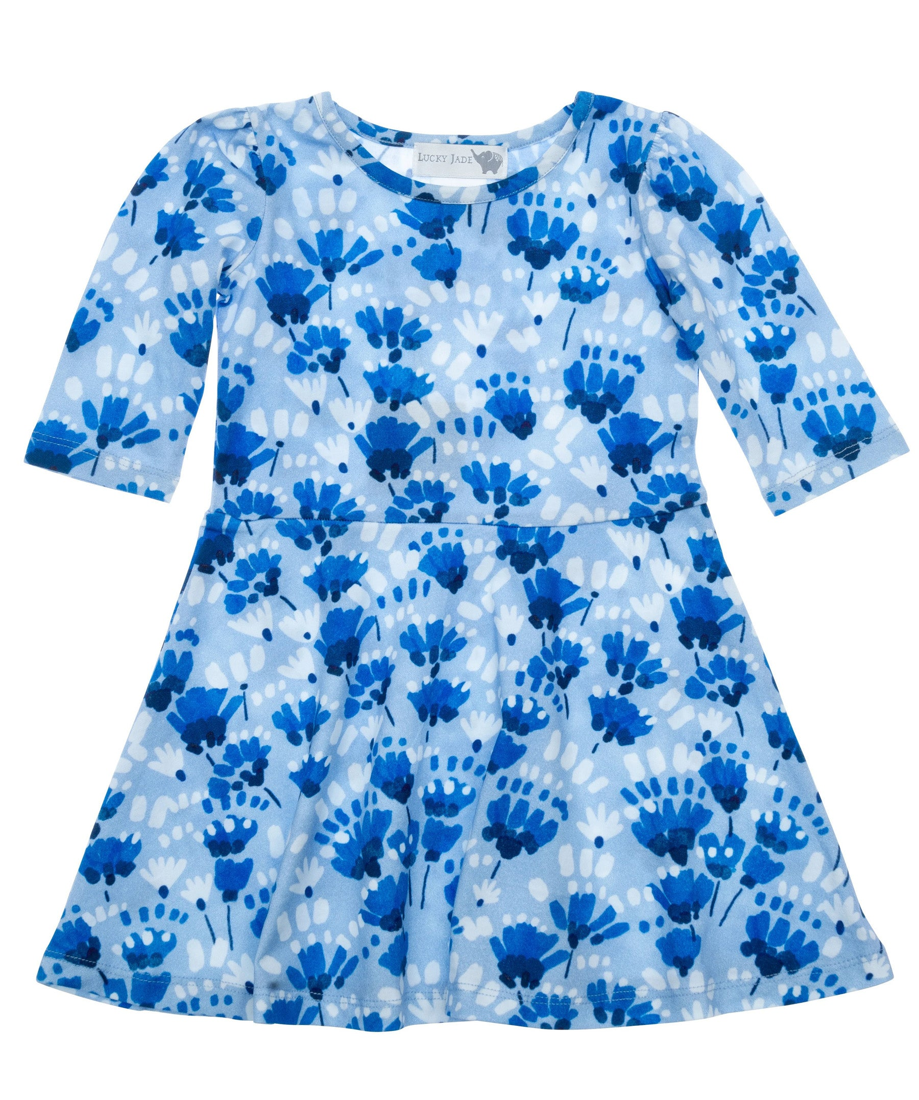 Parisian Flowers Bubbly Dress