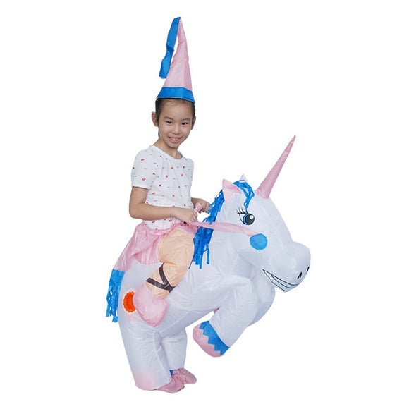 Yuanyistyle Kids Unicorn Costumes Baby Boyu0027s Girlu0027s Ride On Animal  sc 1 st  YUANYI STYLE & Inflatable Costumes for Adults Ride Me Carry On Fancy Dress (Unicorn ...