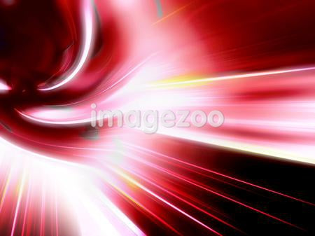 Illustration of a glowing red swirl