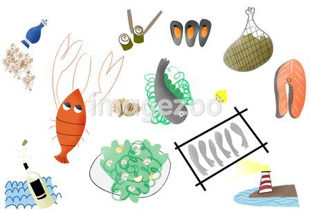 Various sea food