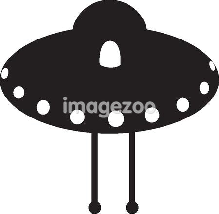 Cartoon drawing of an UFO