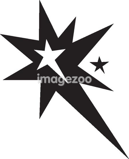 Drawing of a star burst