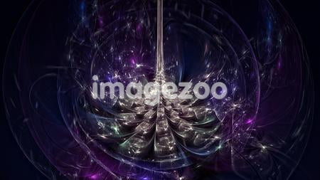 Purple abstract digital background