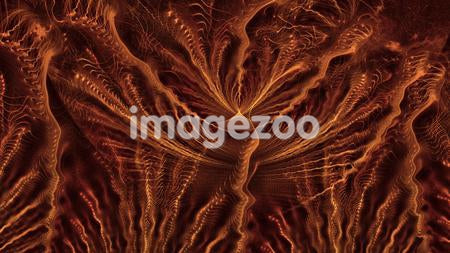 Abstract orange image