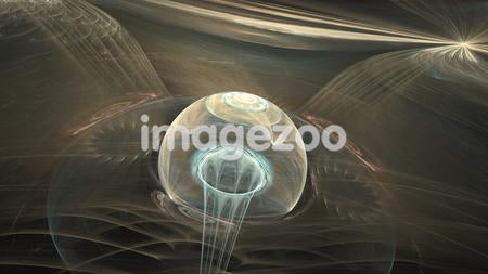 Abstract image of an orb