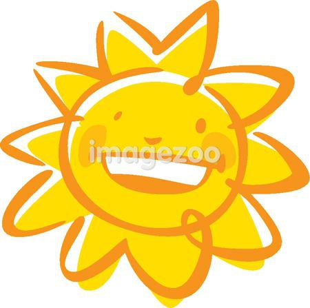 An image of a smiling sun