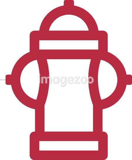 Drawing of a fire hydrant