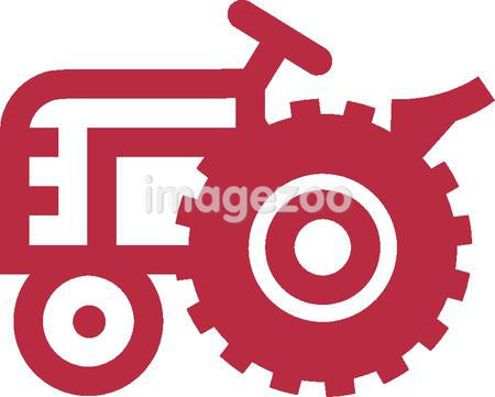 Drawing of a Tractor