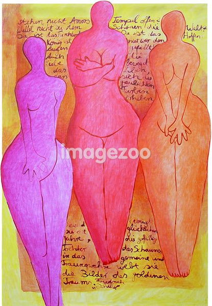 A pictorial illustration of women's perception of their body images