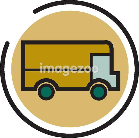 Illustration of a delivery truck
