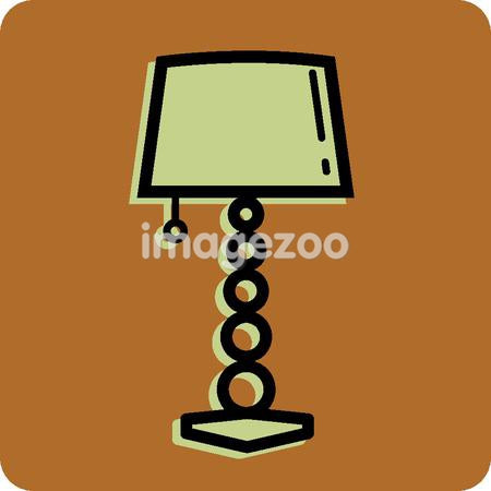 Illustration of a stylish lamp