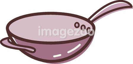 Illustration of a wok