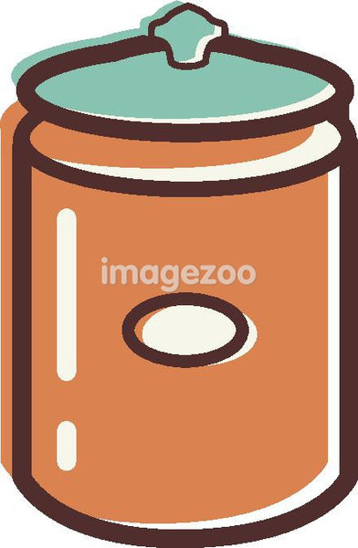 Illustration of a canister