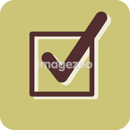 Illustration of a checkbox
